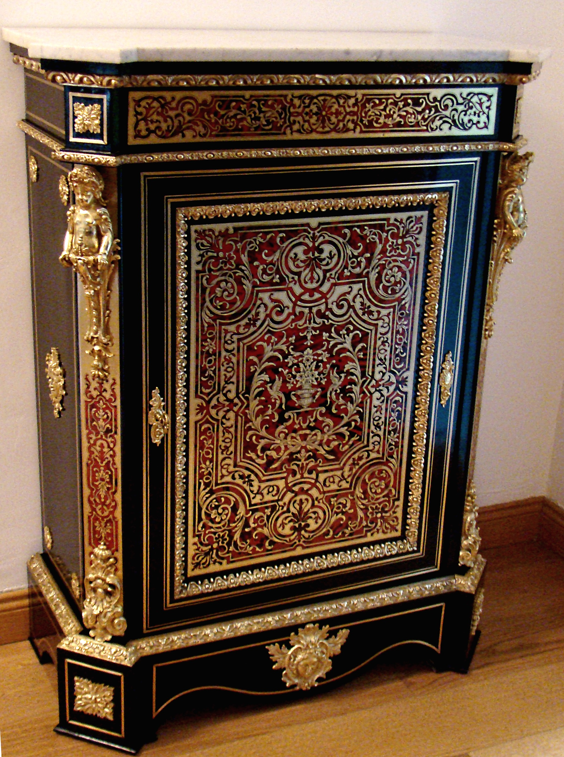 marqueterie boulle atelier de l 39 antiquit. Black Bedroom Furniture Sets. Home Design Ideas